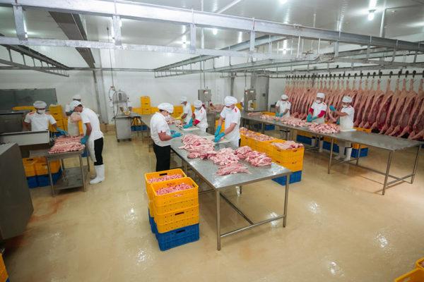 Meat Cutting Area